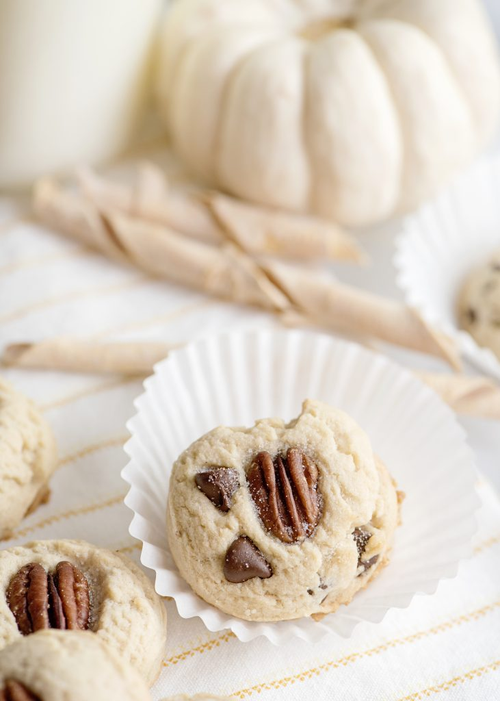 Chocolate Chip Butter Pecan Cookies